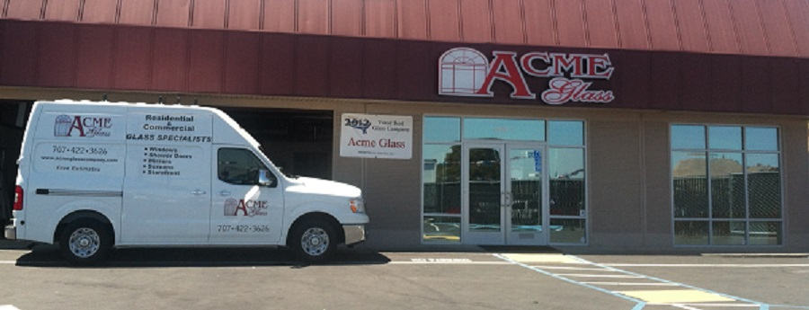 Glass and windows in fairfield, acme glass company in solano county