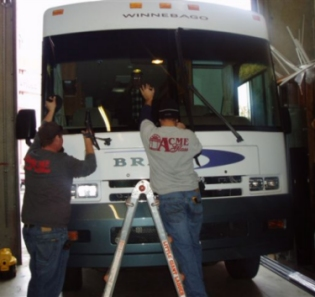 RV & Motor Home Window and Glass Replacement in Solano County