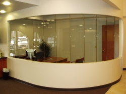 custom interior glazing