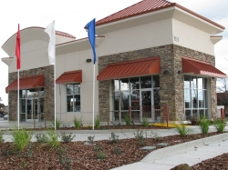 drive thru windows and commercial glazing