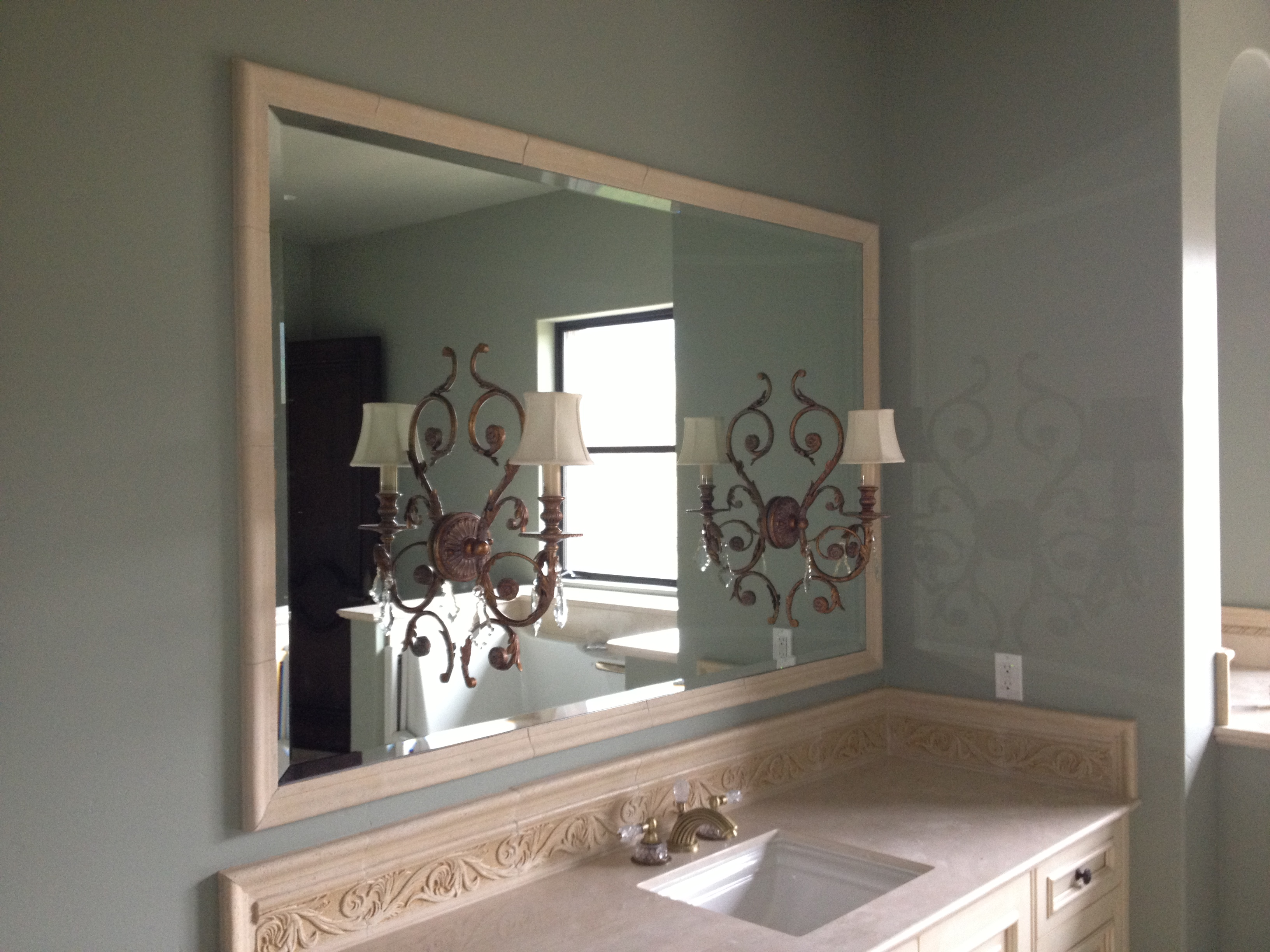 custom mirror in fairfield