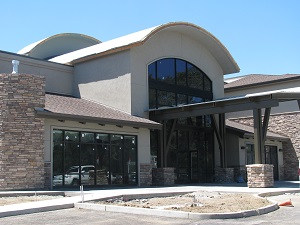 Vacaville glass and window commercial project